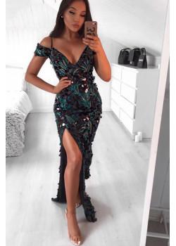 Женское классическое платье - Floral