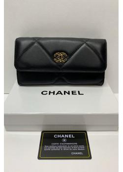 Кожаный кошелёк 19x9 см (2 расцветки)