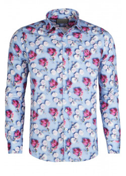 "Брендовая мужская рубашка ""Floral"""