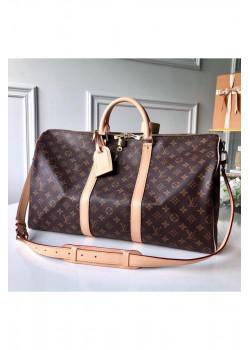 Брендовая кожаная сумка 55 см (3 расцветки)