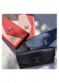 Кожаный брендовый кошелёк 20x11 см (4 расцветки)