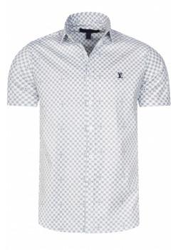 Брендовая мужская рубашка - White