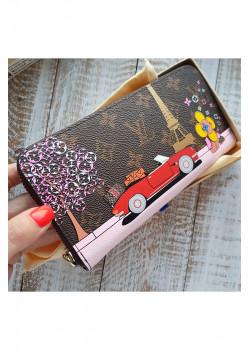 Кожаный брендовый кошелёк 20x10 см (3 расцветки)