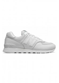 Кроссовки 574 Leather - White