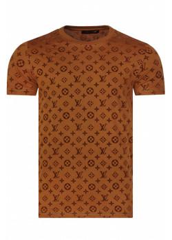 Брендовая мужская футболка - Brown