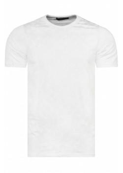 Брендовая мужская футболка - White