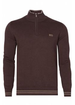 Классическая мужская кофта - Brown