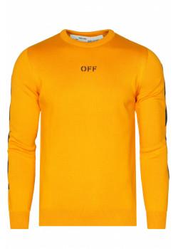 Мужской свитер - Orange