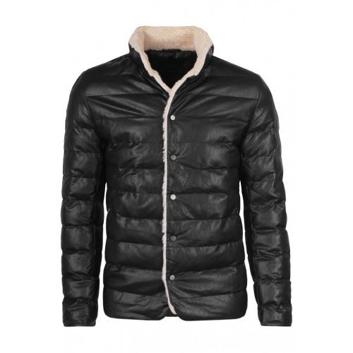 Дизайнерская мужская куртка - Black
