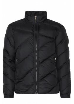 Стеганая мужская куртка - Black
