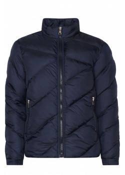 Стеганая мужская куртка - Navy