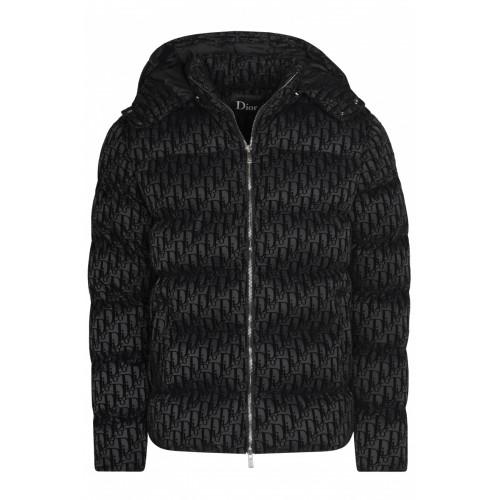 Мужская куртка с капюшоном - Black