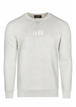 "Утеплённый мужской свитшот ""ICON"" - Grey"