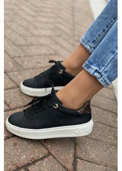 Женские брендовые кеды - Black