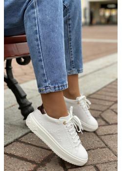 Женские брендовые кеды - White