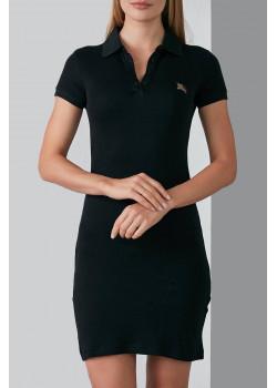Классическое чёрное платье