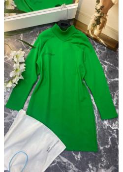 Классическое платье - Green