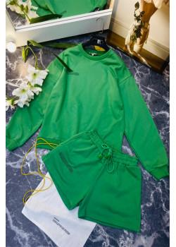 Женские шорты и кофта - Green