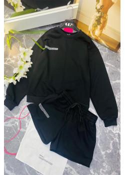 Женские шорты и кофта - Black