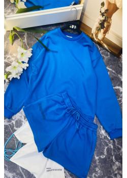 Женские шорты и кофта  - Blue