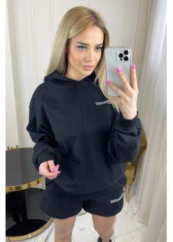 Женские шорты и худи - Black