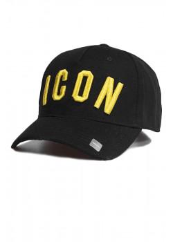 "Мужская бейсболка ""ICON"" - Black"