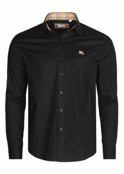 Классическая мужская рубашка - Black