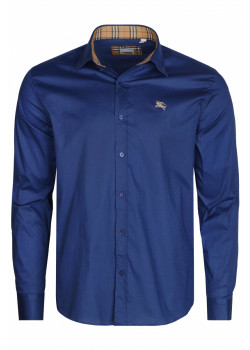 Классическая мужская рубашка - Navy