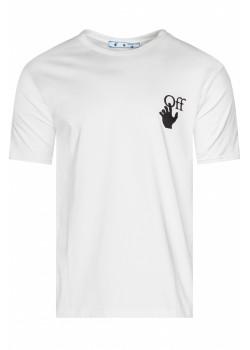 """Белая оверсайз футболка """"Arrows"""""""