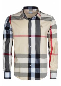 Классическая мужская рубашка - Beige