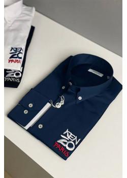 Мужская рубашка Paris - Navy