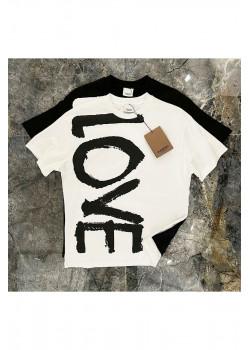 "Белая оверсайз футболка ""Love"""