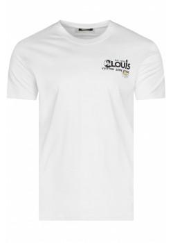 """Брендовая мужская футболка """"Confusion"""" - White"""