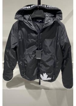 """Мужская куртка """"Maple Leaf"""" - Black"""