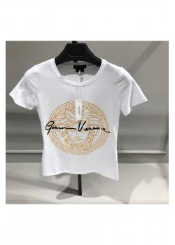 """Женская футболка """"Medusa"""" - White"""