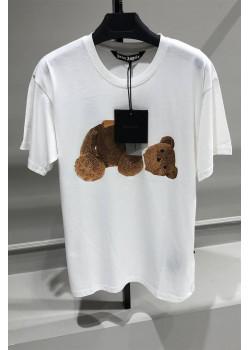 """Женская оверсайз футболка """"Bear"""" - White"""