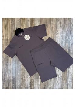 Мужская брендовая футболка - Grey