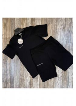 Мужская брендовая футболка - Black