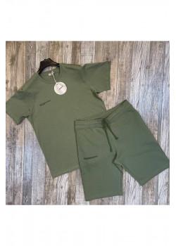 Мужская брендовая футболка - Green