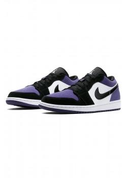 Кроссовки AJ1 Low - Court Purple