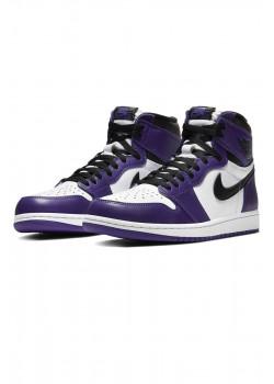 Кроссовки AJ1 Retro - Court Purple