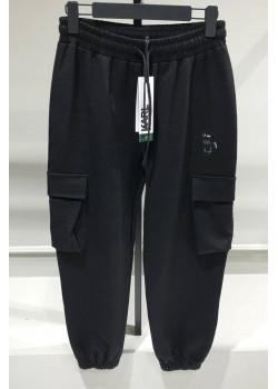 Женские чёрные штаны