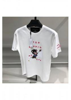 Женская оверсайз футболка - White
