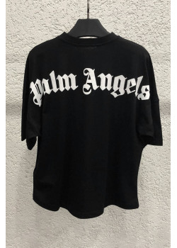 Женская оверсайз футболка - Black
