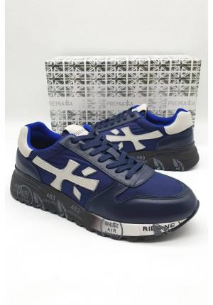Мужские тёмно-синие кроссовки