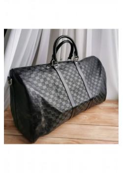 Брендовая дорожная сумка 45 см - Black