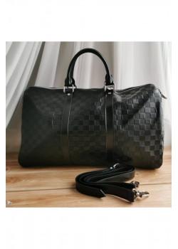 Брендовая дорожная сумка 50 см - Black