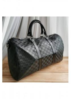 Брендовая дорожная сумка 55 см - Black