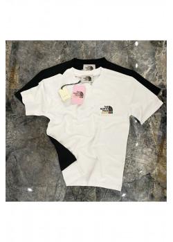 Брендовая оверсайз футболка - White