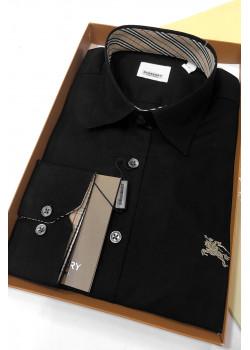 Мужская чёрная рубашка
